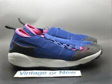 Men's Nike Air Footscape Black Royal Blue Pink 2010 Running 311378-500 sz 8.5