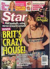 Star Dec. 2007. Britney's Crazy House. Dennis Quaid. Sarah Jessica Parker