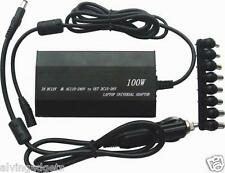 100W Universal AC Power Car DC Adapter Inverter Charger For Laptop With USB Out