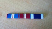 Queen's Golden, Diamond Jubilee and Navy LSGC medal bar. Sew on type.