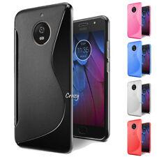 S CURVE Soft Gel TPU Case Cover For Motorola Moto G5 G5S | G5 Plus G5S Plus