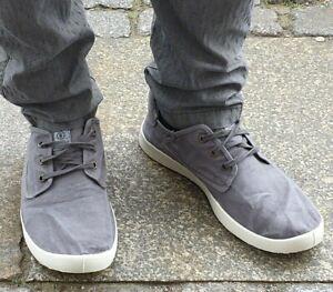 Natural World Shoes 3304E623 gris enz Bio-Baumwolle Waschbar vulkanisiert