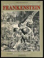 Frankenstein Marvel Illustrated Novel Softcover Rare SC Berni Wrightson art 1st