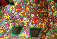 Shopping Cart High Chair Cover Green Jungle Babe Ease The Clean Shopper w/Case