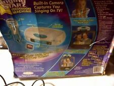 2002 JAKKS PACIFIC, INC. TOYMAX  SINGING STARS VIDEO KARAOKE MACHINE 3 CARTRIDGE