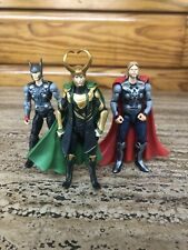 "Loki Marvel Universe Avengers Movie Line 3.75"" Figure Lot Asgard Thor Movie"