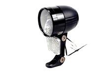 LED 100 Lux Fahrradscheinwerfer Fahrradlampe Nabendynamo Standlicht mit Sensor