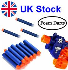 NERF Foam Bullets Darts BLUE Refills Fits Most Nerf Guns 10, 25, 50, 100 pcs