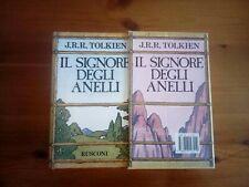 J.R.R.Tolkien,Il Signore Degli Anelli.Rusconi,1989.20°ed.