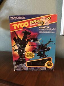 Vintage 1986 Tyco Super Blocks Robo-Bloxx Bloxxzar - Attack Copter NIB
