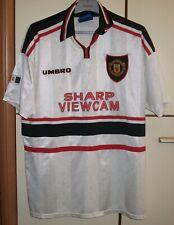 Manchester United 1997 - 1999 Away football shirt jersey Umbro Size XL