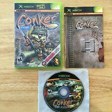 Conker: Live & Reloaded Original Microsoft Xbox System Complete Game
