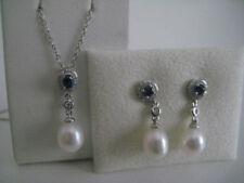 Orecchini con diamanti perli farfalline tondi