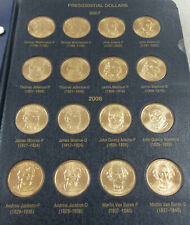Mixed MM of Presidential Dollar Coins s Complete Uncirculated Type Set