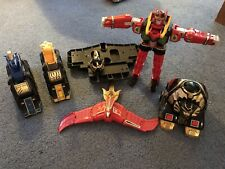 Power Rangers Red Dragon Thunderzord + Assault Team (Boxes And Styrofoam)