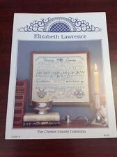 Counted Cross Stitch ELIZABETH LAWRENCE Chester County Collection pattern
