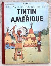 Tintin En Amérique  B3 1949 Hergé Beau cahier
