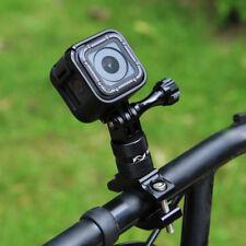 Adaptador de Manillar de Bicicleta de aluminio de montaje para GoPro HERO 6 5 Session 5 4 3+ Acción