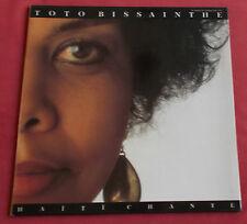 TOTO BISSAINTHE LP HAITI CHANTE  CHANT DU MONDE