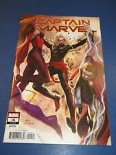 Captain Marvel #16 Lee Variant NM Gem Wow Avengers