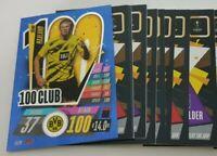 2020/21 Match Attax UEFA Champions League - Lot of 20 cards inc 100 Club Haaland
