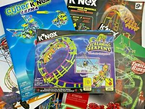 Knex Instruction Manuals K'nex Building Guides - Select Your Own - You Pick!