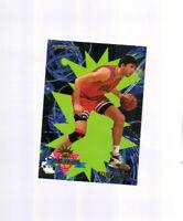 1994-95 FLEER ROOKIE SENSATIONS TONI KUKOC CARD #14 CHICAGO BULLS  BASKETBALL