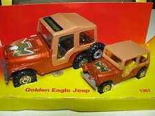 Corgi Gift Set #1357 - Golden Eagle Jeep - Mint + Original Box