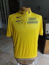 Maillot cycliste NIKE Jaune du Tour de France 2001 Crédit Lyonnais - XL  Nike