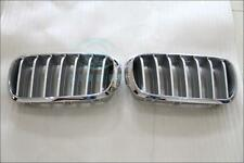 For BMW X5 E71 2009-2014 NEW style chrome front grille mesh grill vent trim
