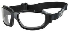 Harley-Davidson® Men's Bend Goggles Clear Lens Collapsible Black Frames HABEN03