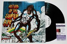 LEE SCRATCH PERRY SIGNED RETURN OF THE SUPER APE LP VINYL RECORD ALBUM JSA COA