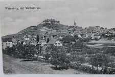 10254 AK Weinsberg mit Weibertreu 21.10.1906 Straße