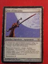 JITTE D'UMEZAWA'S TRAITRE DE KAMIGAWA LEGENDAIRE 163/165 CARTE MAGIC MTG RARE VF