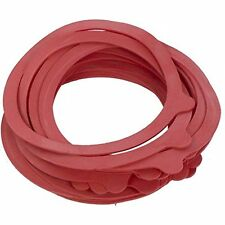 JAR RUBBER SEAL RINGS 110/93mm (20pcs) - RED Jar Replacement Seals for Preserve