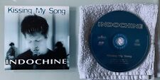 INDOCHINE Rare CDS 2T Cartonné KISSING MY SONG Acoustic V.
