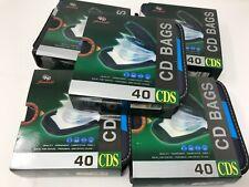 40 slot CD DVD Organizer Holder Storage binder sleeves