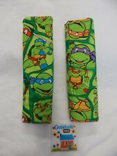 Seat Belt Covers Ninja Turtles For Standard Seat Belt  SET OF TWO