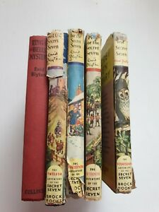 Enid Blyton 5 1st Edition Books