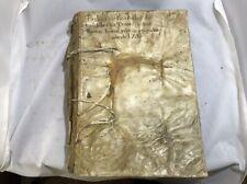 1793-1801 real del Tesoro cuenta Imperio español Carlos IV manuscrito Vitela