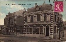 CPA DECHY (Nord) .- La Poste et la mairie  (190667)