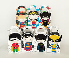 SUPERHERO PARTY FAVOUR LOLLY BOX THEMED KIDS BIRTHDAY BAGS SUPPLIES DECORATIONS