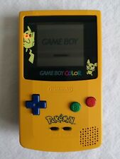 Nintendo Game Boy Color/Colour Special Edition Pokemon Pikachu Console - GBC