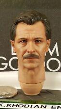 Hot Toys MMS182 TDK Batman Lt Jim Gordon S.W.A.T 1/6 action figure's Head sculpt