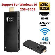 For Intel atom Z8350 Quad-Core 4K 2GB+32GB Mini PC Computer Stick WiFi Dongle GS