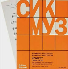 Alexander Arutiunian - Concerto for trompet & orchestra - sheet music