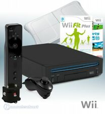 Wii Konsole RVL-001 schwarz, Wii Fit Plus, Sports, mote, Motion Plus, Board, Zub