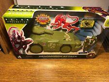 ALIEN COLLECTION Xenomorph Attack Space Colony Defense Alien Battle Set Vehicle
