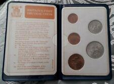 Britains First Decimal Coins Set