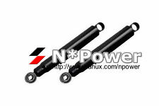 STD GAS SHOCK ABSORBERS PAIR REAR FOR MITSUBISHI CHALLENGER K96 3.0 V6 4WD LEAF